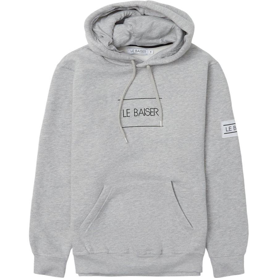 NANCY - Nancy Sweatshirt - Sweatshirts - Regular - GREY MELANGE - 2